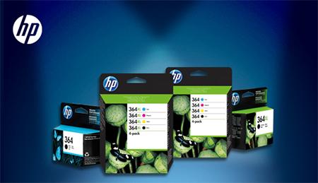 Offre de remboursement sur les cartouches HP 364 authentiques