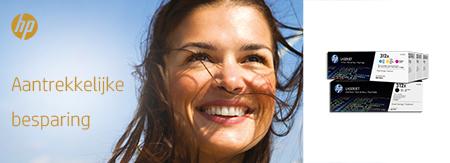 Aantrekkelijke besparing - Original HP Toner cashback promotion